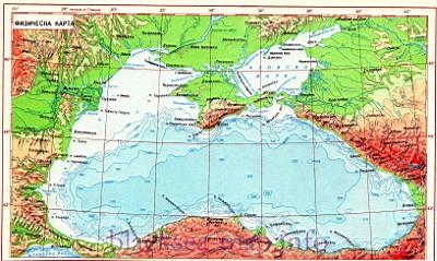 Черном море температура воды в
