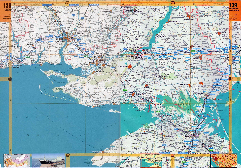 Карта побережья Крыма. Крым - подробная крупномасштабная ...: http://blacksea-map.ru/map720525_0_0.htm