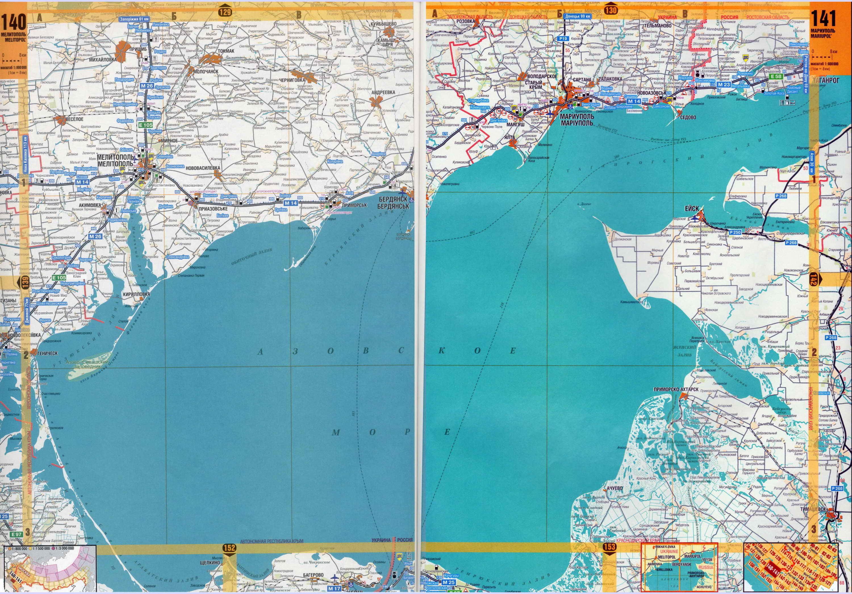 Карта побережья Крыма. Крым - подробная крупномасштабная ...: http://blacksea-map.ru/map720525_0_1.htm
