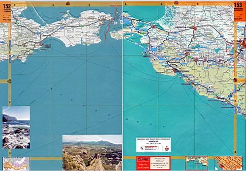Карта побережья Крыма. Крым - подробная крупномасштабная ...: http://blacksea-map.ru/720525.html